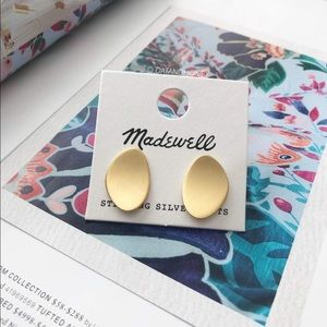 Madewell Petalwing Post Earrings